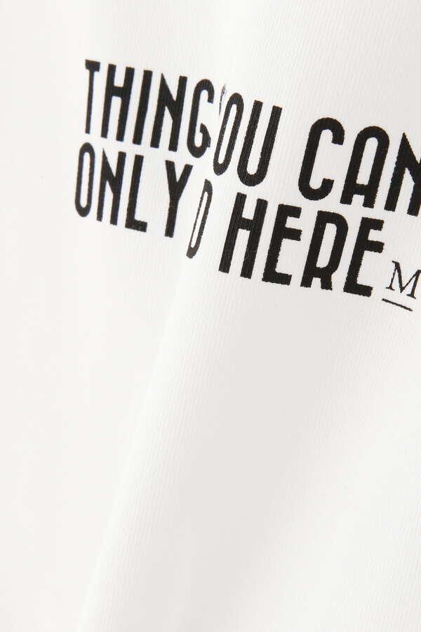 ビッグシルエットロゴTシャツ