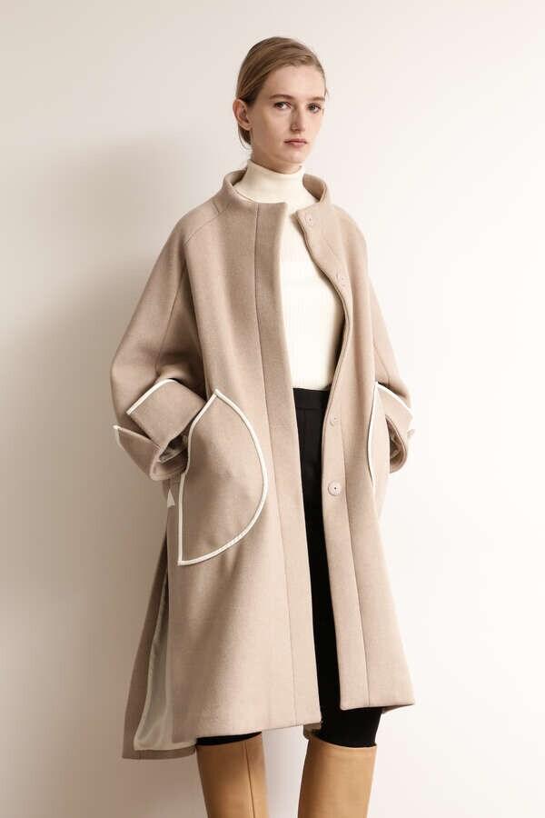 コーデッドパイピングコート