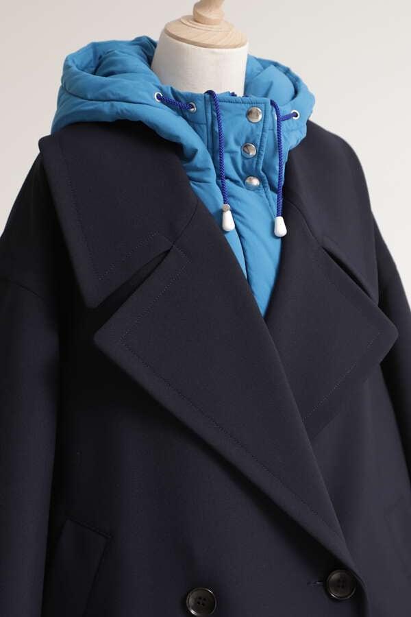 レイヤードオフィサーコート
