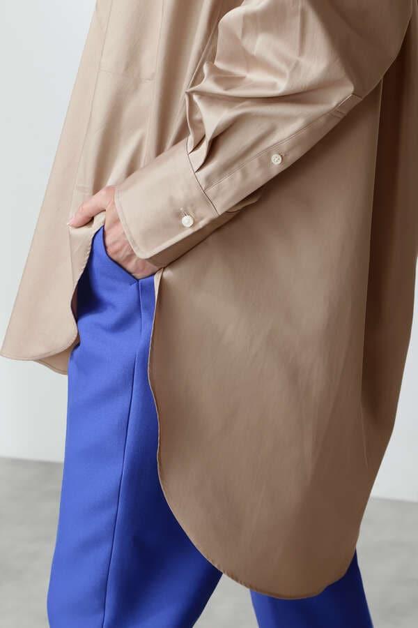 BIG DRESS SHIRT SATIN