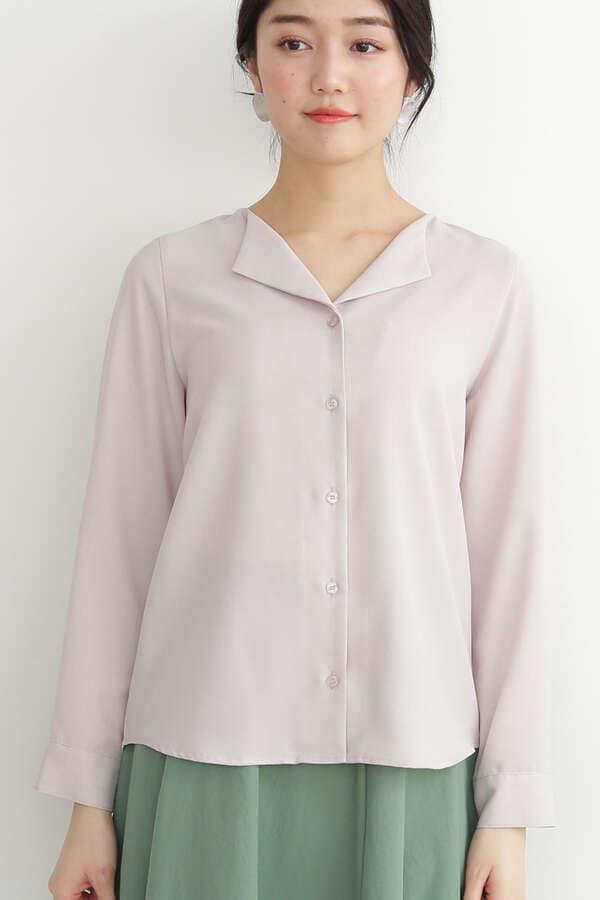 ガルーダツイルシャツ オープンカラー