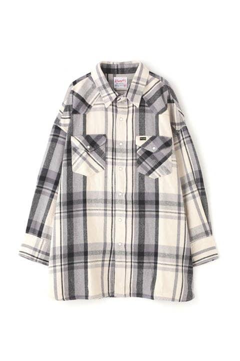 ≪Wrangler≫BIG FIT SHRTS ビッグシャツ