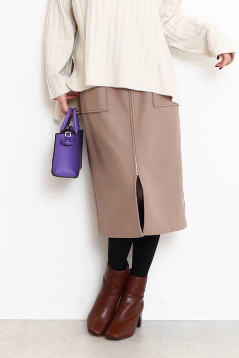 フロントデザインタイトスカート