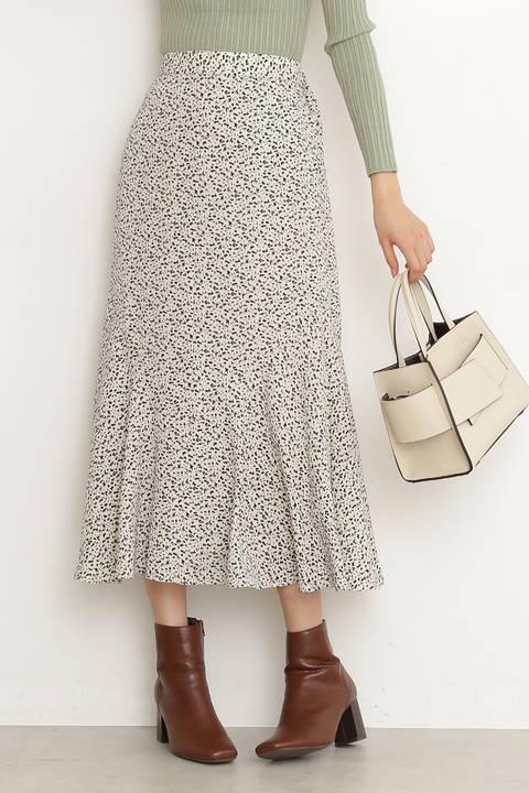 スプリングペプラムAラインスカート