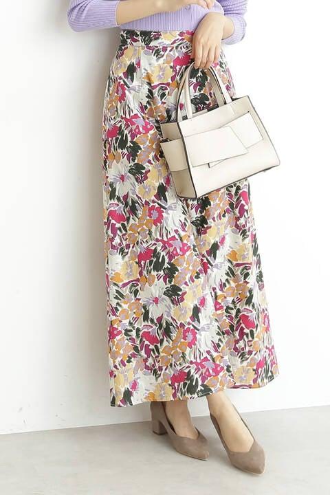 【先行予約2月下旬-3月上旬入荷予定】《LIBERTY PRINT》Pairtens Bouquet ロングスカート