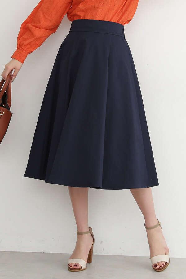 テックツイルフレアスカート