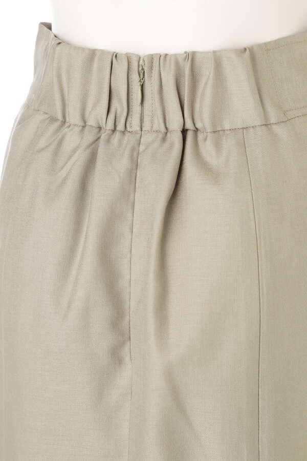 切り替えハイウエストタイトスカート