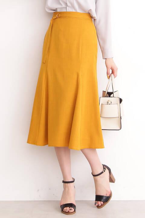 麻調マーメイドスカート