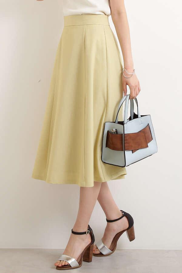 パネルフレアスカート
