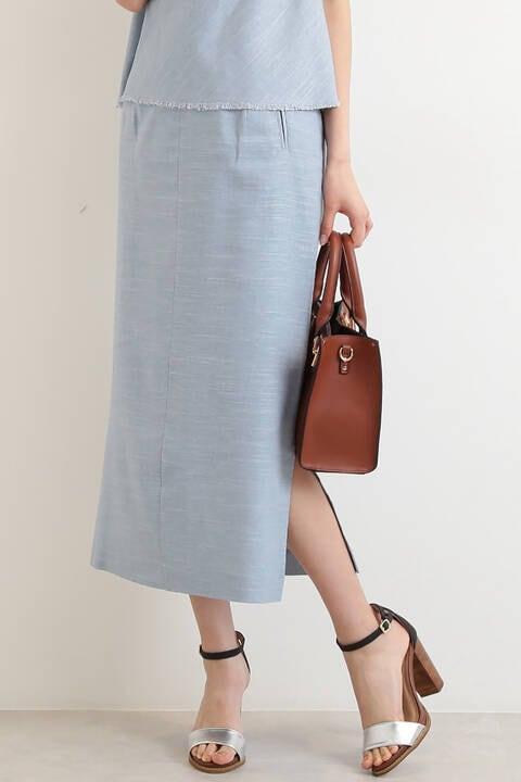 ヘリンボンセットアップスカート