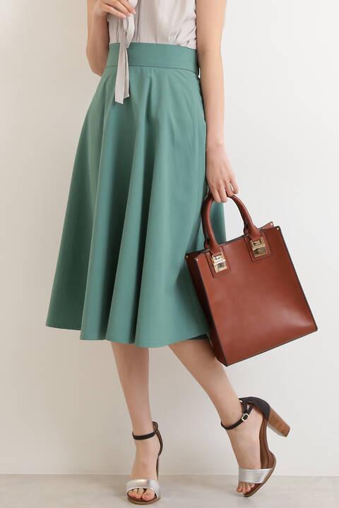 【先行予約5月上旬-5月中旬入荷予定】ニューフルボディフレアスカート