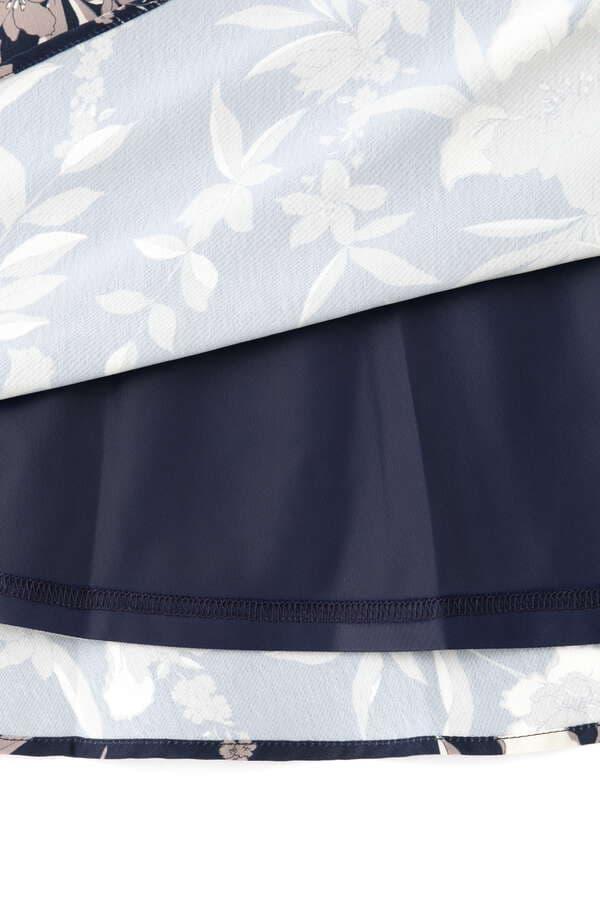 リリープリントミモレスカート