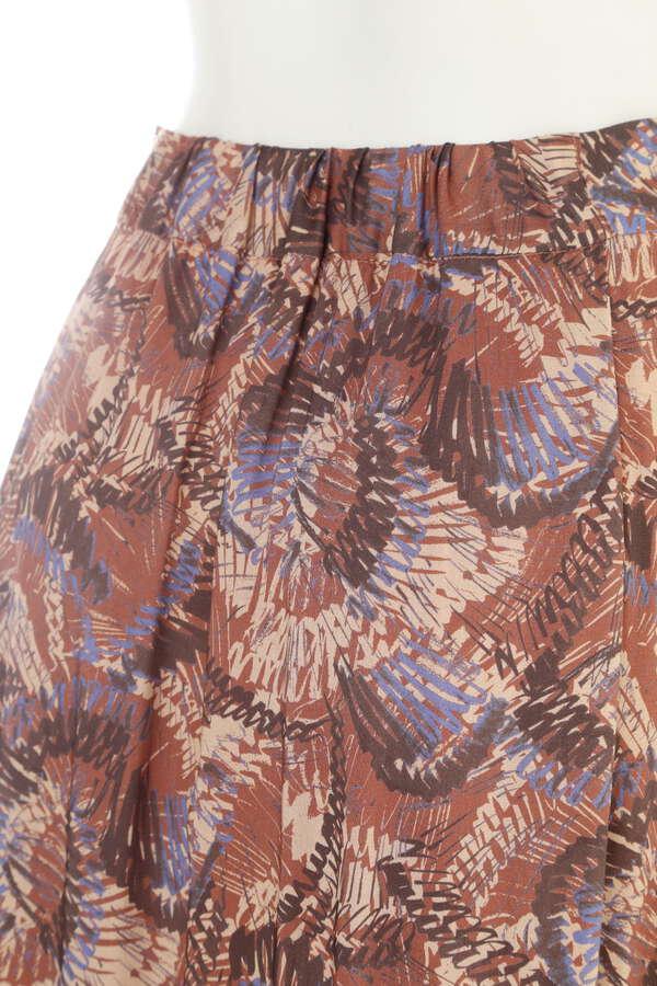 ネイティブプリントスカート