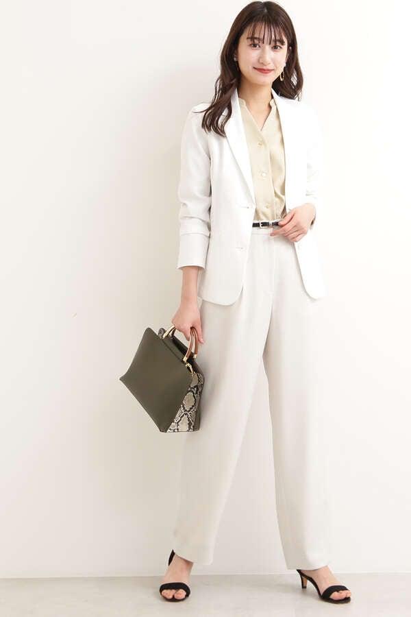 ≪ウォッシャブル≫ハニカムウォッシャブルテーラードジャケット