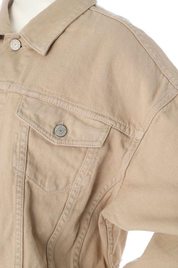【SOMETHING】バルーンデニムジャケット