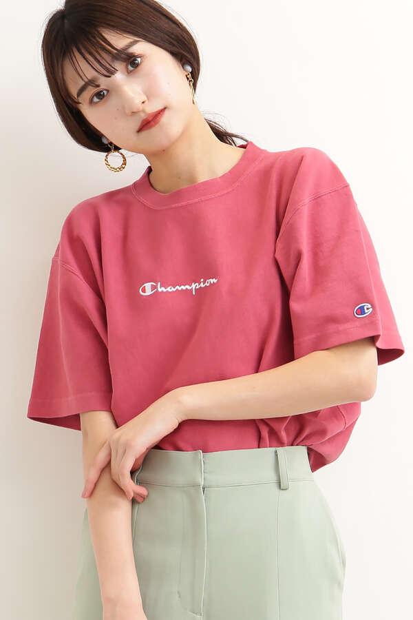 【Champion】リバースウィーブTシャツ
