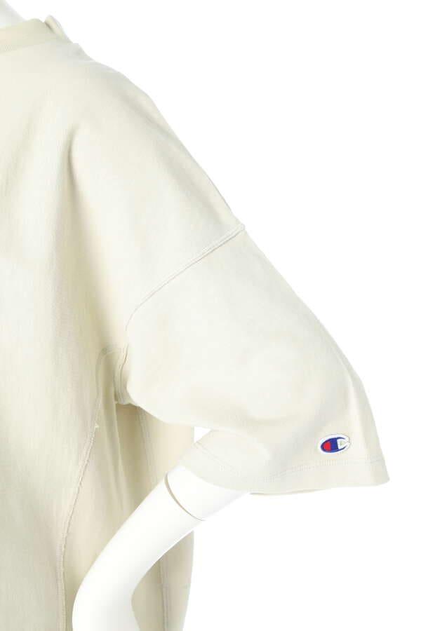 【Champion】リバースウィーブモックネックTシャツ