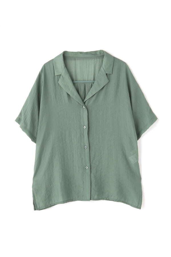 開襟リラックスシャツ
