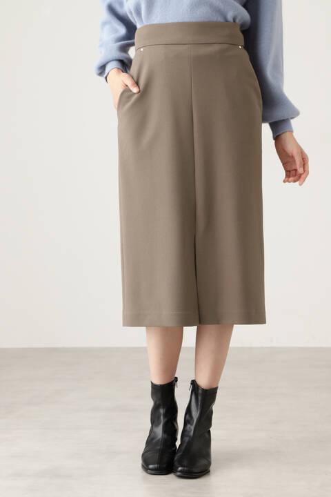 ハイウエストストレッチタイトスカート
