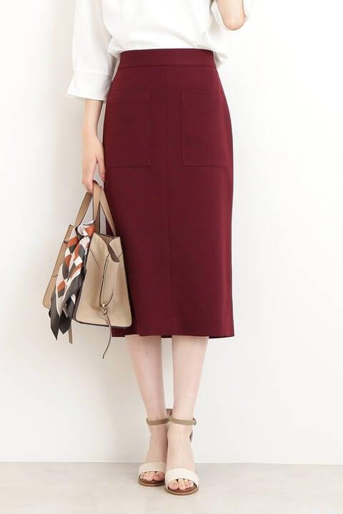【先行予約7月下旬-8月上旬入荷予定】ポケットタイトスカート