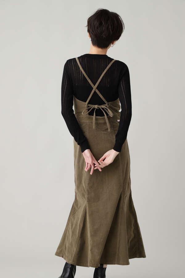 【Lee】PANEL SALOPETTE SKIRT ペンシルサロペットスカート