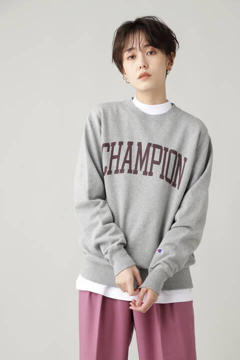 【Champion】クルーネックスウェットシャツ