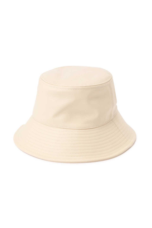 【公式/エヌ ナチュラルビューティーベーシック】【先行予約9月上旬-9月中旬入荷予定】【Casselini】フェイクレザーバケットハット/女性/手袋・帽子/エクリュ/サイズ:FR/