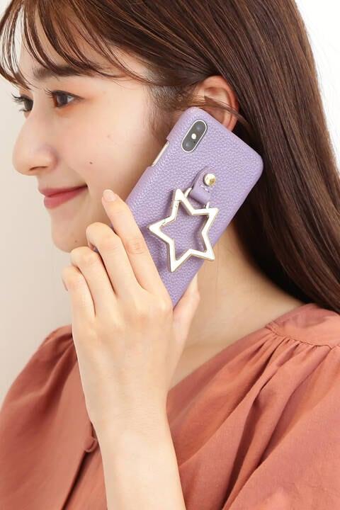 【Hashibami】スタースタンドiPhoneX/XSカバー