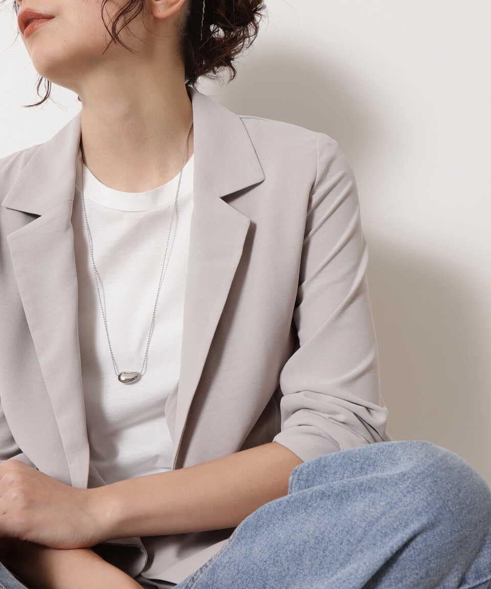 【公式/エヌ ナチュラルビューティーベーシック】モチーフロングネックレス/女性/ネックレス・ブレスレット/シルバー/サイズ:FR/