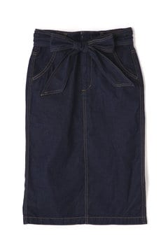 【追加予約_5月中旬お届け予定】【Ray 4月号掲載】ベルト付デニムタイトスカート