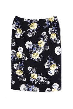 ツムギプリントタイトスカート
