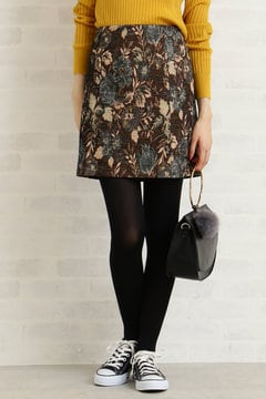 ゴブラン織りミニスカート