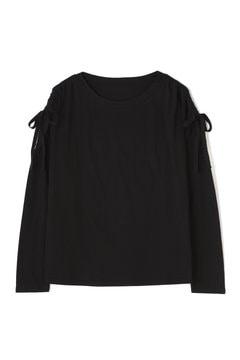シャーリングボリュームスリーブTシャツ