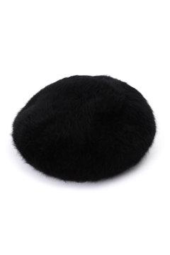 ビッグシャギーベレー帽