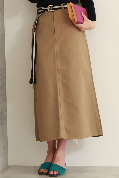 Aラインチノマキシスカート