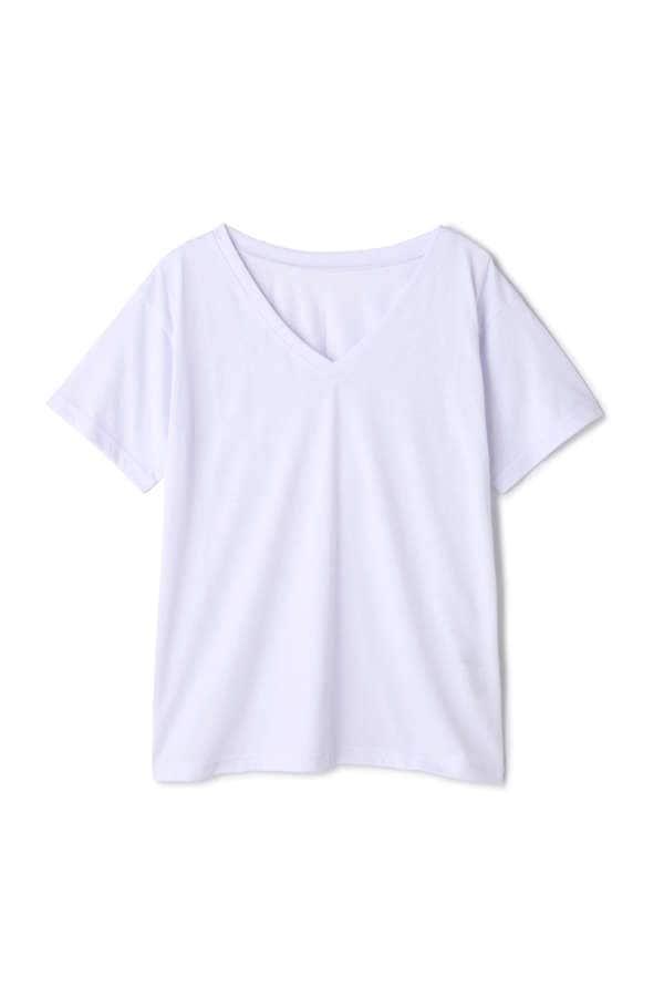 ベーシックTシャツ Vネック