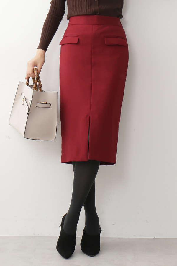 【先行予約11月上旬-11月中旬入荷予定】フラップポケットスカート