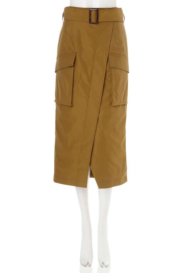 ポケットラップスカート