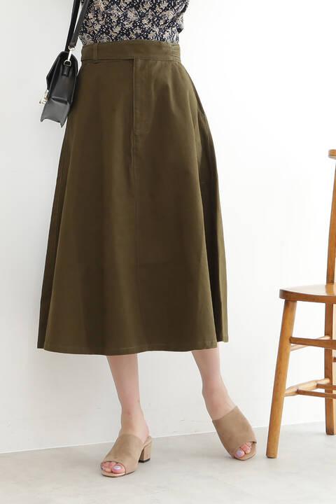 【先行予約8月中旬-8月下旬入荷予定】フレアミモレグルカスカート