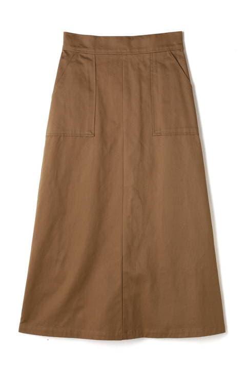 チノポケットスカート