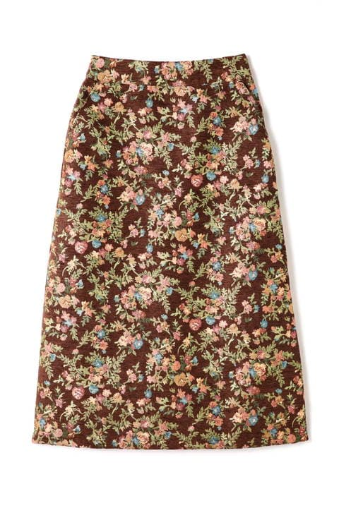 ゴブランジャガードAラインスカート