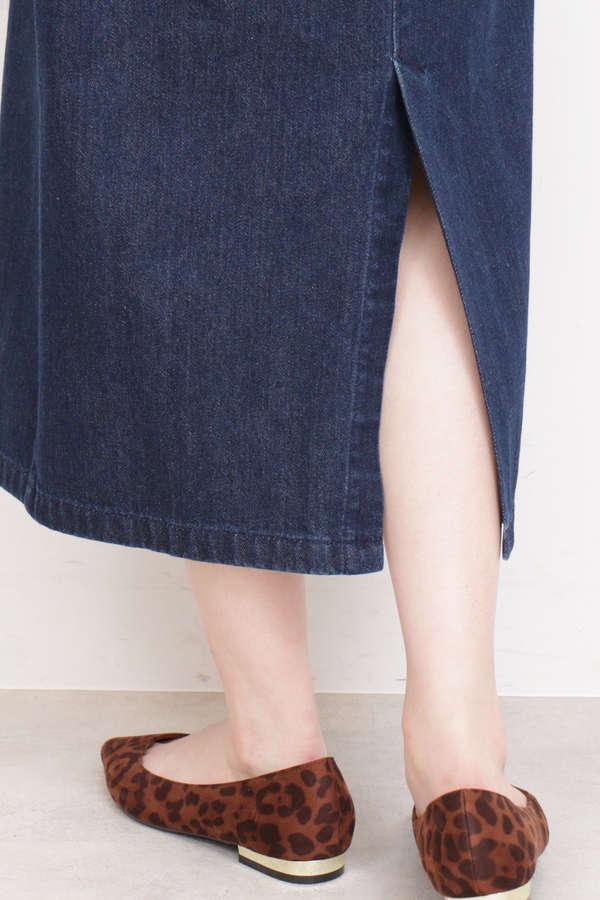 ロングタイトジャンパースカート