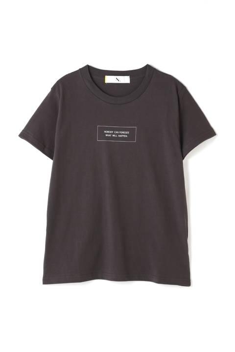 スクエアロゴコットンTシャツ