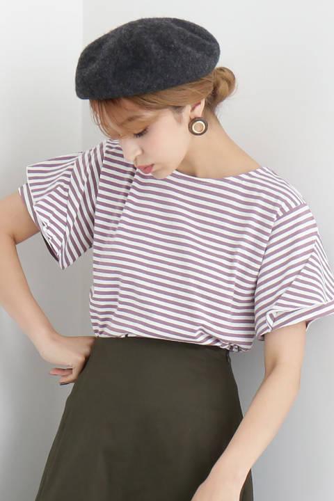 デザインスリーブTシャツ