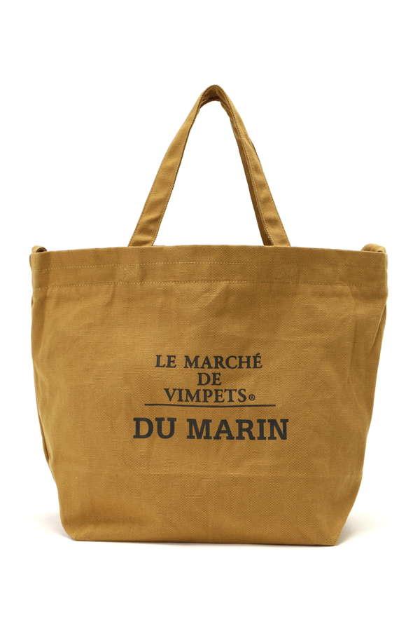 《LE MARCHE`DE VIMPETS》キャンバス2WAYショルダーバッグ