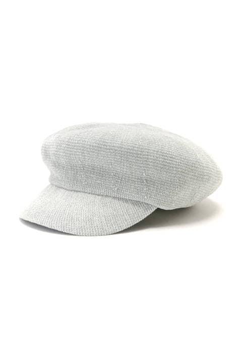 モールヤーンキャスケット帽