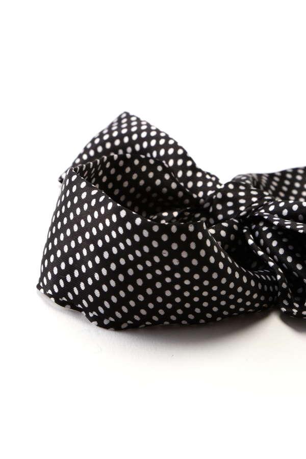 ヴィンテージ風スカーフ柄アクセサリー