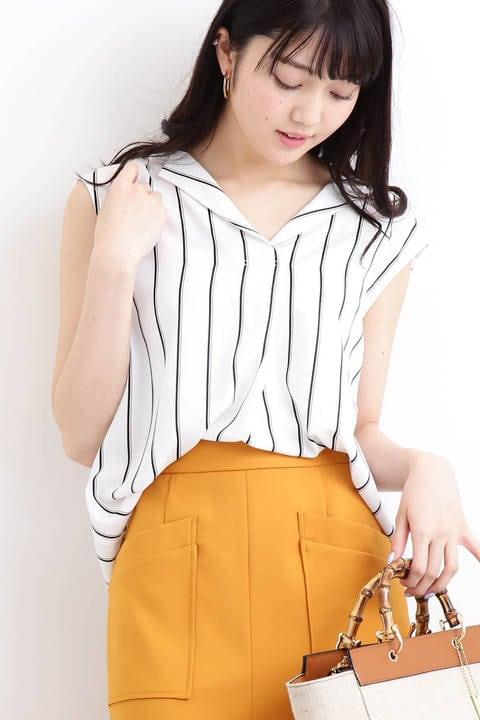 ガルーダツイル開襟シャツ