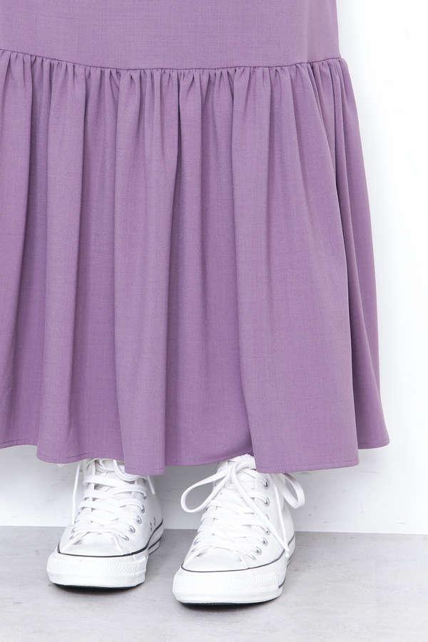 ヘムボリュームマキシスカート