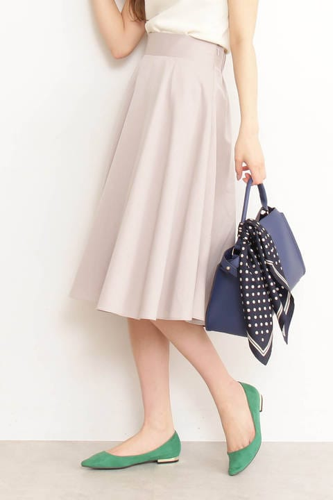 T/Rフレアミモレスカート